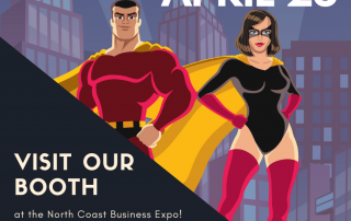 visit our booth at the north coast business expo